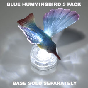 Blue Hummingbird 5 pack