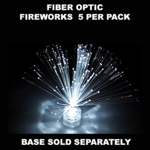 Fiber Optic Fireworks 5 pack
