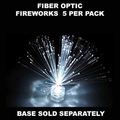 Fiber Optic Fireworks 5 pack