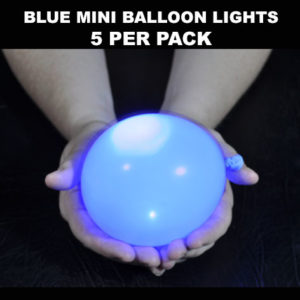 Blue Mini Balloon lights 5 pack