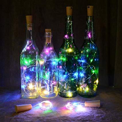 multicoloured l.e.d. wine cork2